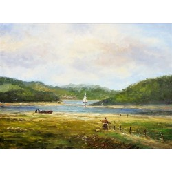 L. Scheen-the French River
