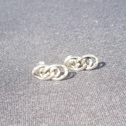 Earstuds Nat S 925 sterling...