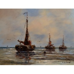 L. Scheen-and fishing vessels at sea