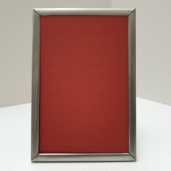 Photo Frame flat matt silver