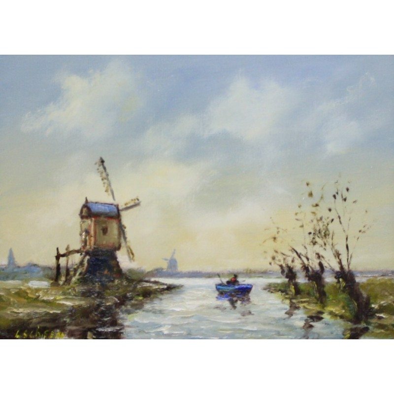 L. Scheen-fishing at the three mills