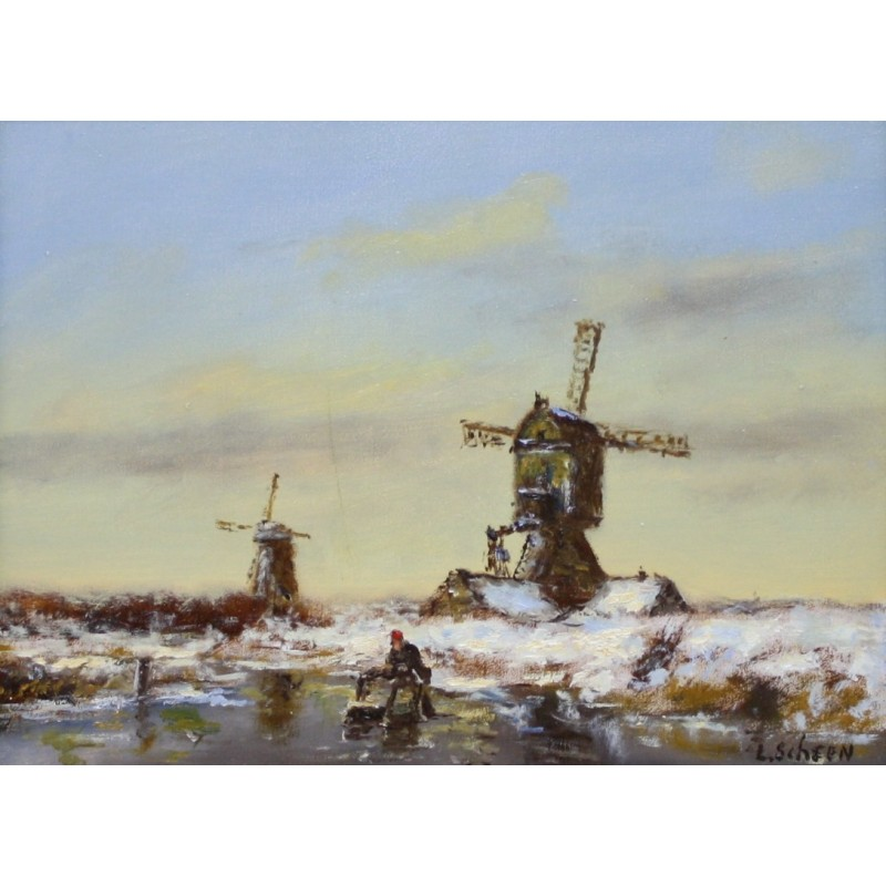 L. Scheen-the three mills