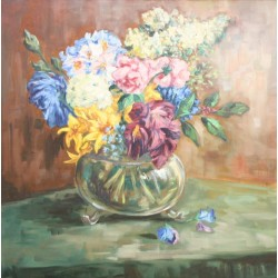 A. van Klugt-flowers on the table