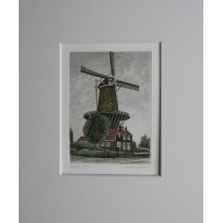 Veldhorst  -the mill in Delft