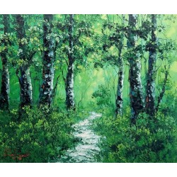 Nanang Lugonto-the green forest