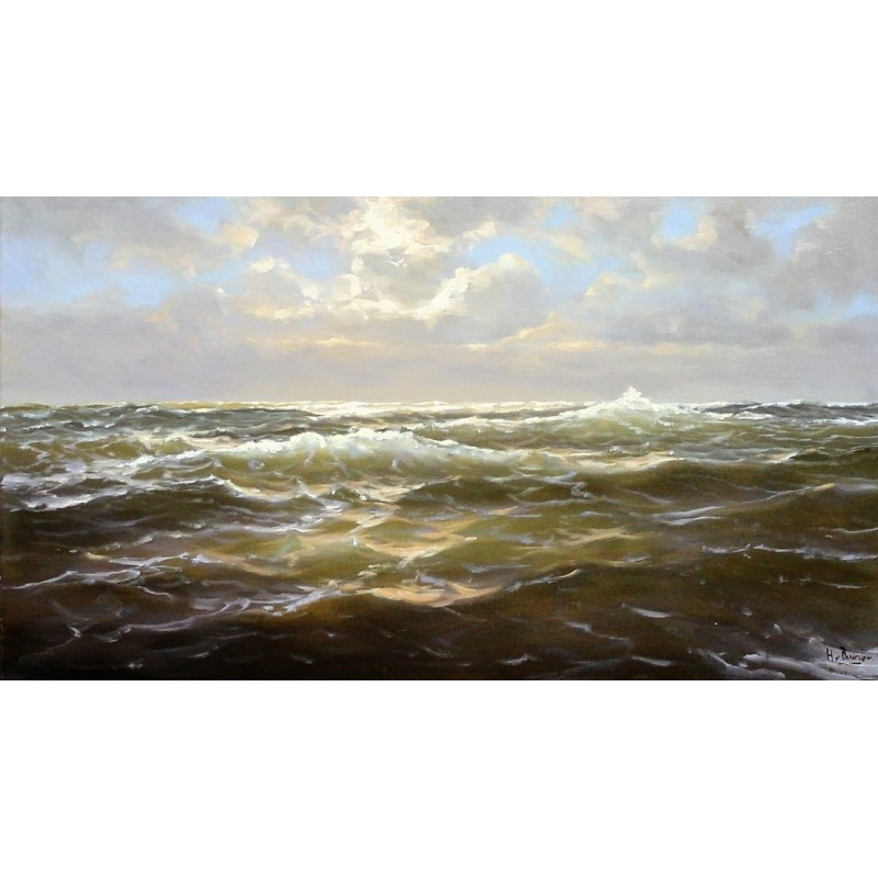 Henk van Beurden-rough seas