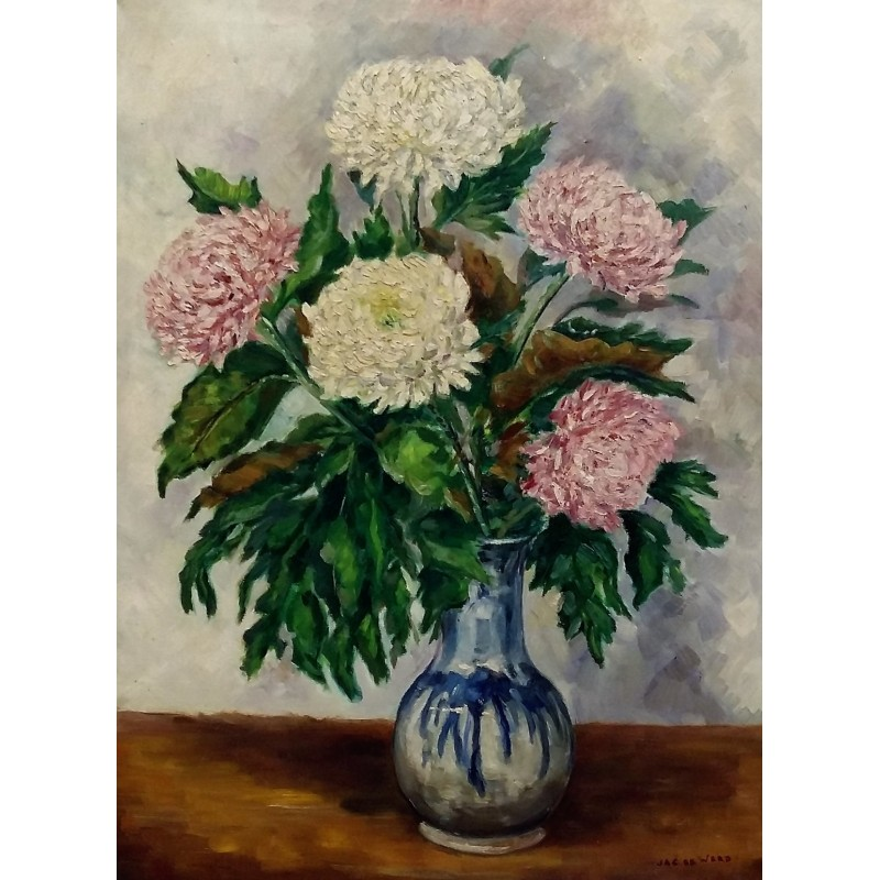 Jac de Weerd-Chrysanthemum in vase