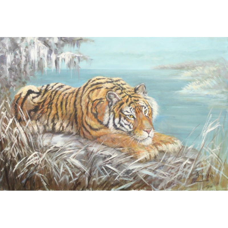 A. Keller-the tiger in winter