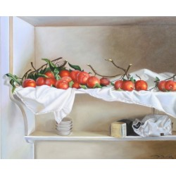 Tomatoes on the shelf