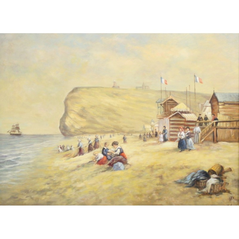 A. van Klugt-a day out on the French coast