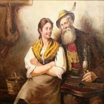 Old Dutch scene